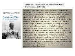 a presentation on the first prime minister of jawaharlal nehru pandit nehru