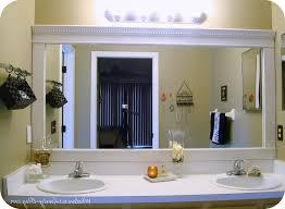 bathroom mirror frame. Charmant Aweinspiring . Bathroom Mirror Frame