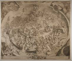 Botticelli Chart Of Hell High Resolution Mapping Dantes Inferno One Circle Of Hell At A Time