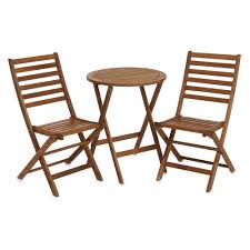 architecture mercury row 3 piece bistro set with cushions reviews wayfair pertaining to wood bistro