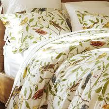 bird print bedding duvet sheet set with birds on it