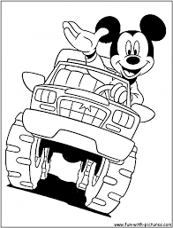 Monster Truck Coloring Pages Printable At Getdrawingscom Free For