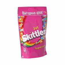 """""""<b>Skittles</b>"""" <b>Жевательные конфеты</b> в сахарной глазури 100 г """"2 в 1 ..."""