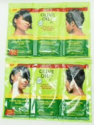 olive oil hair relaxer touch up