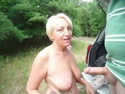 Outdoor suck video cum