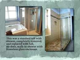 posh tub to shower conversion cost tub to shower conversion costs bathtub to shower conversion pictures