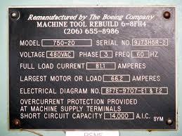 used cincinnati milacron 750 20 vercipower cnc listatool com image for post 14857
