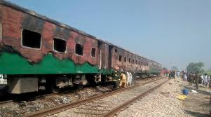 Image result for tezgam train fire