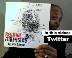 How To Find Candidates With Twitter Resume Forensics Youtube