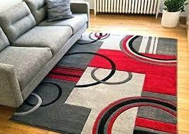 area rugs 5 x 7 elegant blue grey rug dark with regard to red round antique