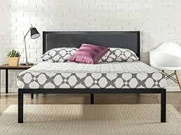 Amazon.com: Zinus Korey 14 Inch Platform Metal Bed Frame with ...