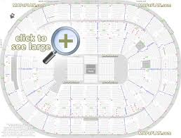 Joe Louis Arena Seating Chart With Rows Scottrade Center Seat Row Numbers Detailed Seating Chart