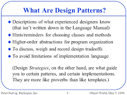 Programming Design Patterns Classy Design Patterns In Dynamic Programming Ppt Download