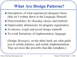 Programming Design Patterns Classy Design Patterns In Dynamic Programming Ppt Download