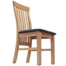 Shengfeng Set Von 4 Eiche Holz Esszimmer Stühle Gepolstert