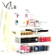 mirrored makeup storage cabinet wall mounted with stand china acrylic organizer get ations uk