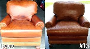 how to dye leather couch chair kit brown furniture service belfast