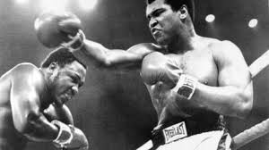 「Ali defeated Frazier by decision in 12 rounds」の画像検索結果