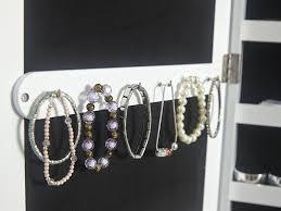 gfw amore jewellery storage mirror with