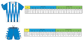Sim Size Chart Size Guide Kids Football Program In Hong Kong Sparrow