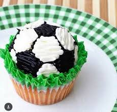Soccer Ball Decorations Cupcakes