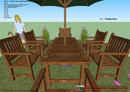 Home Garden Plans GT100  Garden Teak Tables  Woodworking Plans Outdoor Furniture Plans Free Download