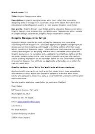 Cover Letter Cover Letter Examples For Graphic Designers Cover