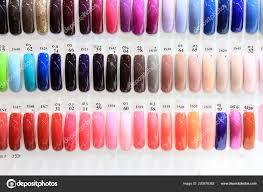 Různé Nehty Gelové Barvy Kosmetické Produkty Různé Barvy Nehtů Gel