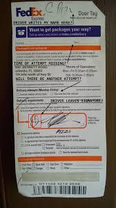 Door Tracking Number & ... Images Of Fed Ex Door Tag Door Ideas ...