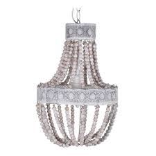 full size of lighting delightful small wood chandelier 23 white bead three tier wooden beaded small