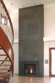 modern fireplace surrounds fireplace surround ideas modern block cast concrete fireplace hallway