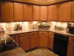 Oak Mission kitchen cabinets in the Dayton door style were used in this  kitchen from CliqStudios.