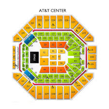 At7t Center Seating Chart Journey 9 2 20 Tickets At T Center San Antonio Tx