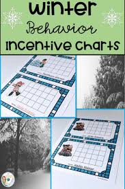 Winter Incentive Charts Incentive Charts With A Winter Theme Second Grade