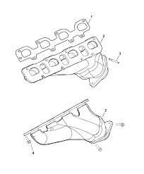 2006 chrysler 300 manifolds intake exhaust diagram 00i98694