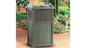 small outdoor trash can full size of outdoor garbage cans with locking lids and wheels small