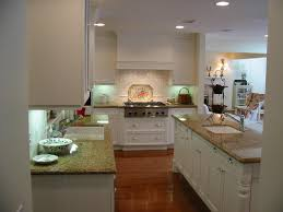 Kitchen Wall Finish French Country Cottage Kitchen L Shaped White Finish Wooden