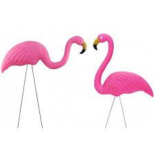 garden flamingos. Garden Ornaments - Flamingo 2 Pk Flamingos The Party People