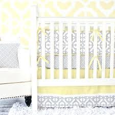 pastel bedding sets mod lattice crib bedding set in yellow and gray pastel nursery bedding sets