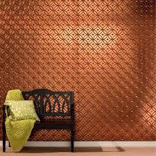 decorative wall panels decorative wall panel in copper fantasy wutvfne