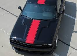 3m Design Line Vs Finish Line 2011 2014 Dodge Challenger Hood Stripes Finish Line Redline