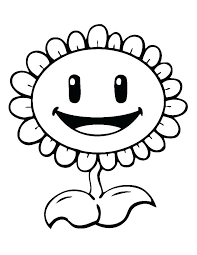 Coloring Pages Of Plants Plants Vs Zombies Printable Coloring Pages