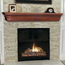 chic stacked stone tile fireplace surround with mantel shelf and screen mosaic designs screens