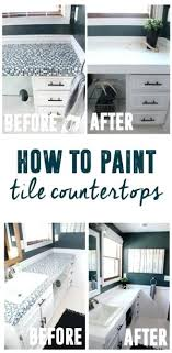 how to paint tile countertops how to paint tile can you paint tile countertops to look how to paint tile countertops