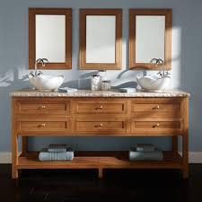 Bamboo Bathroom Cabinets 72 Thayer Bamboo Double Vessel Sink Vanity Bathroom