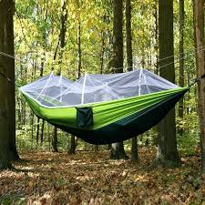 double chair swing 2 person outdoor mosquito net parachute hammock camping hanging sleeping bed swing portable