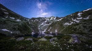 lake at night. file:jazhincë lake at night.jpg night