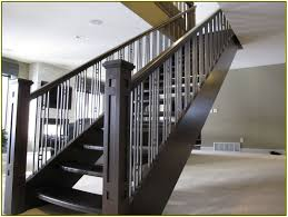 basement stairs railing. Image Of: Modern Stair Railings Design Basement Stairs Railing