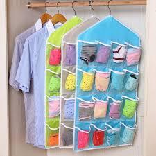 16 pocket closet over door wall hanging
