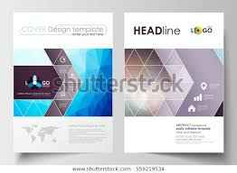 Flyer Formats Business Templates Brochure Magazine Flyer Booklet Stock